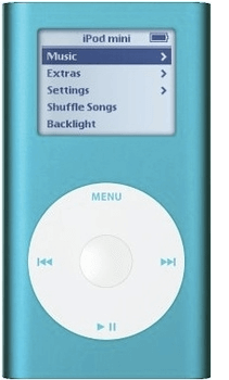 iPod Mini 2nd Gen Parts
